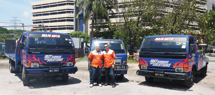MAJU AUTO TOWING SERVICES