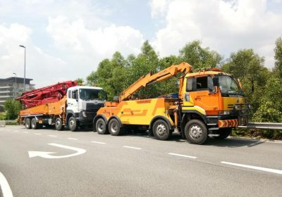 Heavy Recovery Crane Truck
